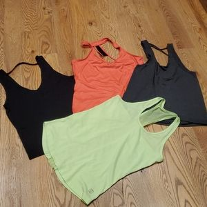 5/$15 Collection of Four Workout Tops